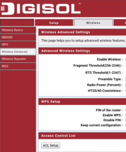 digisol router settings block internet users on smartphone