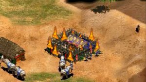 age of empires facts sword building fire