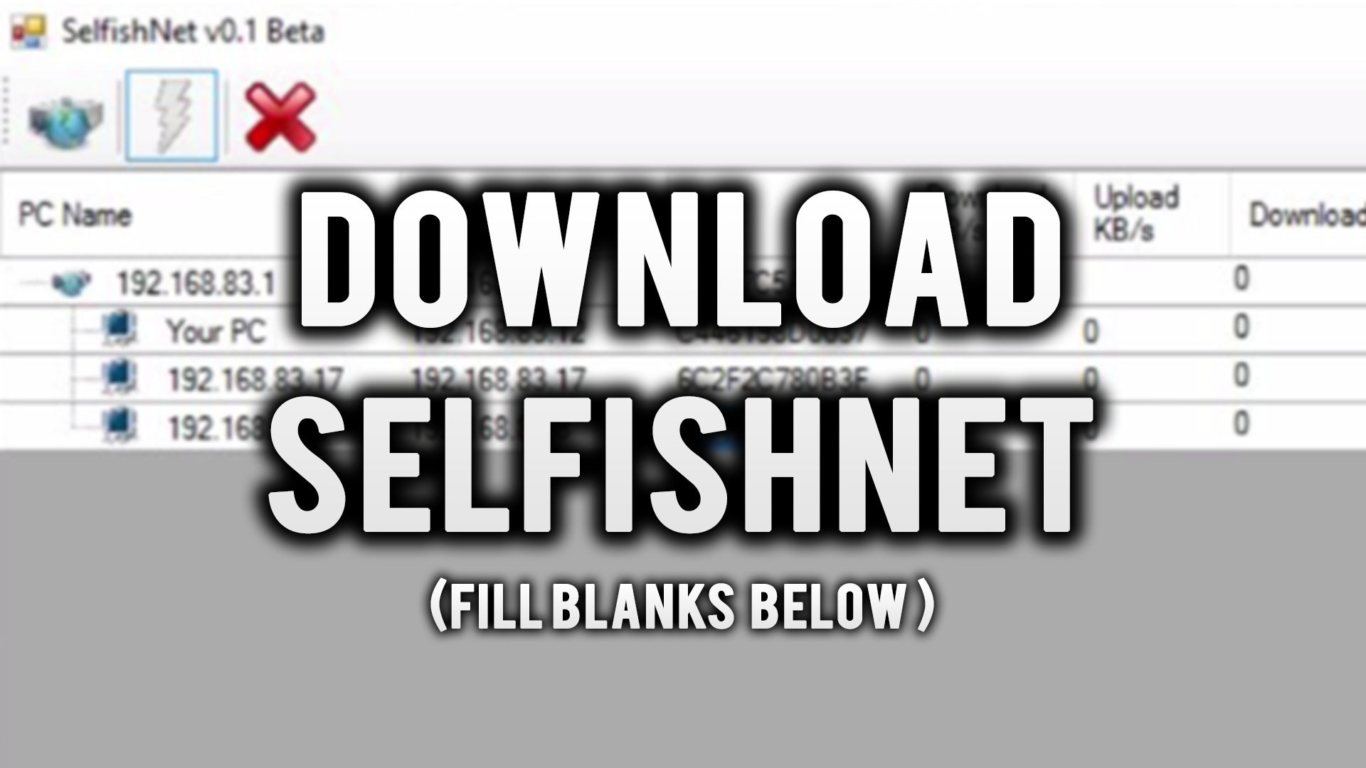 How to download and use selfish net 2018 youtube.